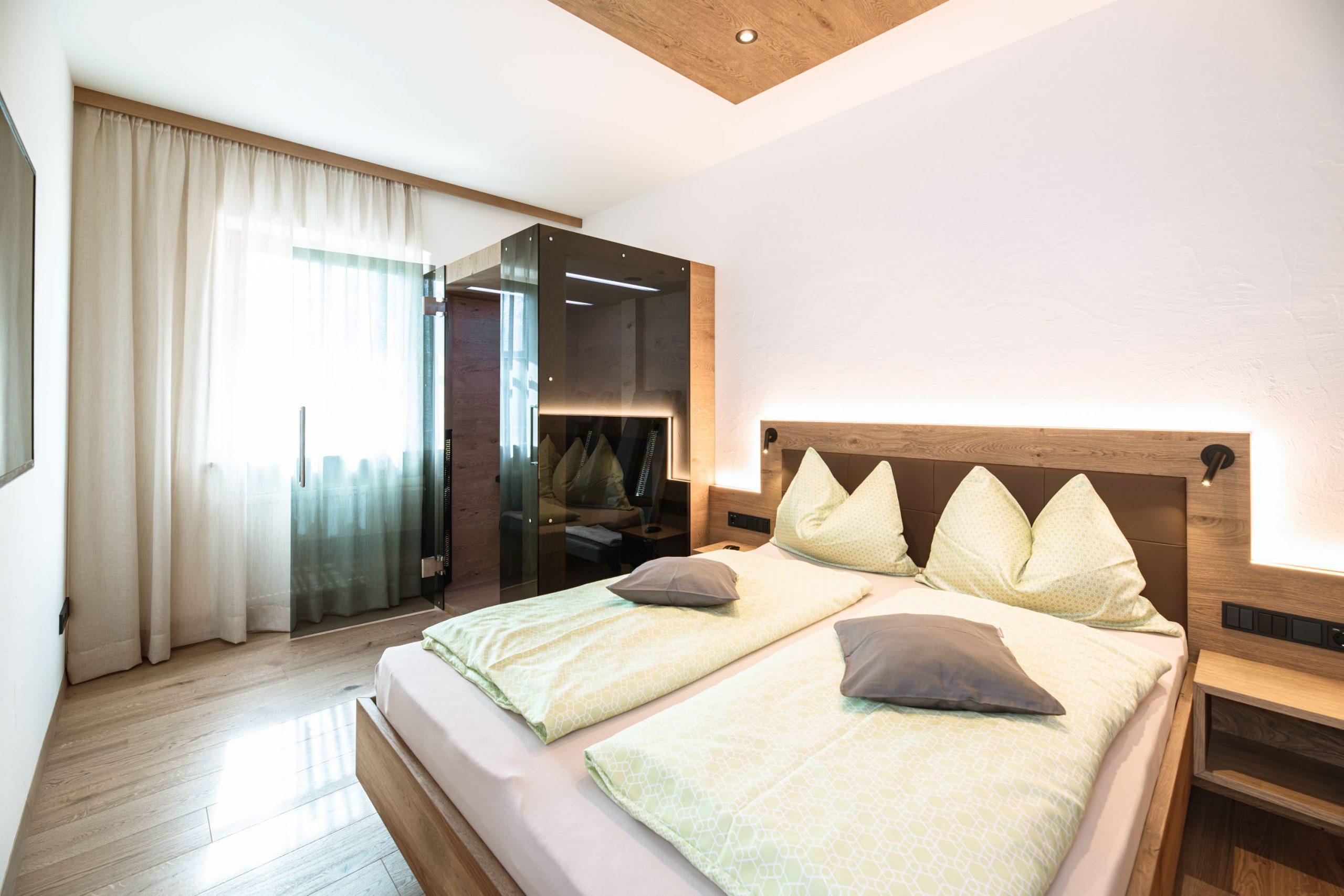 Ferienwohnungen - Greifenstein Schlafzimmer